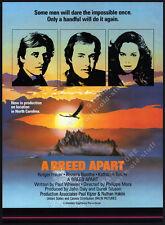 A BREED APART__Original 1983 Trade AD promo_poster__RUTGER HAUER_KATHLEEN TURNER