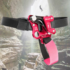Left/Right Foot Ascender Anti-Falling Protector Rope Grabber For Rock Climbing