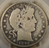 1892-O Barber Half Dollar 50c PCGS Certified G6