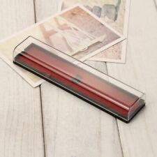Rectangular Acrylic Transparent Plastic Pen Boxes Stationery Case Pencil Bo E1I2