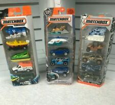 Matchbox  3 (5 pack) Sea Rescue -Ice Voyagers & Camo.Lot of 3.