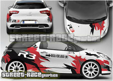 Citroen DS3 Rally 013 R3 racing full graphics stickers decals