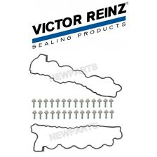 For Mercedes W215 W220 Set of Left & Right Valve Cover Gasket w/ Bolts