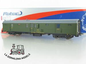 M5024 H0 =DC MABAR Ref.85004 FURGON EQUIPAJES Version sin fuelles DD-5024 Ep.III