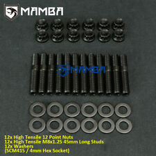 MAMBA SCM415 Exhaust Manifold Stud Kit For Honda Acura DOHC B Series B16 B18 B20