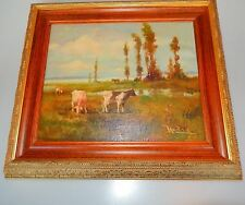 Landscape Oil Painting Realism Style 20th Century