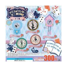 E029 Dollhouse Alice Wonderland Auto Wall Hang Clock Random Epoch Miniature