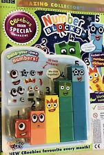 Cbeebies Number Blocks Magazine With Number Blocks 1-5 Toy Amazing 🤗