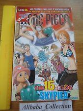 ONE PIECE LOG 16 grand format Eiichiro Oda Collection Hachette MANGA VF