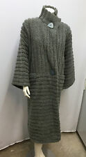 VINTAGE MISSONI COAT GREY SCULPTED WORK OF ART VERY IMPRESSIVE SIZE S SMALL