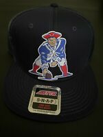 New England Patriots NFL Adjustable Navy Blue Trucker Mesh Cap Snapback NEW NWT