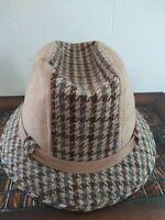 Vintage Fedora Hat Size Large