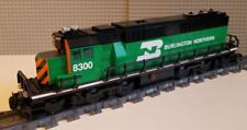 Lego Train Custom Burlington Northern SD60 ---PLEASE READ ITEM DESCRIPTION---