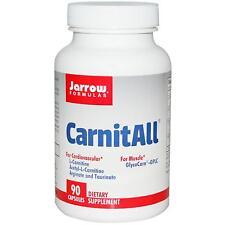 CarnitAll - 90 Capsules by Jarrow Formulas -  Amino Acid for Heart & Muscles