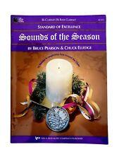 Sounds Of The Season Book(B-Flat & B-Flat Bass Clarinet)-Pearson & Elledge