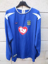 Maillot PORTSMOUTH F.C 2003 2005 home vintage shirt Pompey Sport manches longues