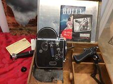 PAILLARD BOLEX  - H-16 Vintage 16mm MOVIE CAMERA, Case & Accessories