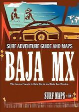 Baja Norte & Baja Sur: Surf Maps Atlas By Surfmaps.Com: By Surf Maps