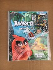 ANGRY BIRDS TRADING CARD GAME COLLECTORS BINDER 16 CARDS & 1 SPECIAL CARD NEW