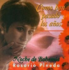 ROSARIO PINEDA - COMO HAN PASADO LOS A¤OS USED - VERY GOOD CD