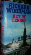 Act of Terror by Richard Woodman (Hardback, 1996)