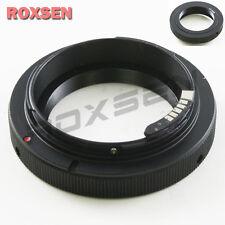 Adjustable AF Adapter for T2 T-2 mount tele lens to Canon EOS 7D 60D 600D 1100D