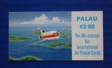 Palau (#C18a) 1989 International Air Postal Cards MNH booklet