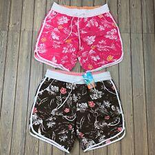 no boundaries womens large floral printed shorts lot of 2