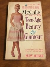 McCall's Guide To Teen-Age Beauty & Glamour 1963 PB Teenage Pyramid Paperback