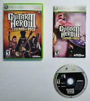 Guitar Hero 3 Legends of Rock for Microsoft Xbox 360 CIB Video Game
