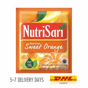 [NUTRISARI] Vitamin C Mineral Halal Drink Powder American Sweet Orange 160x14g