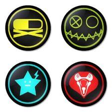 My Chemical Romance, E - 4 chapas, pin, badge, button