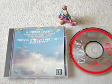 BRAHMS German Requiem LEVINE CSO BATTLE 1984 ED1 GERMANY/JAPAN CD RCA RD85003