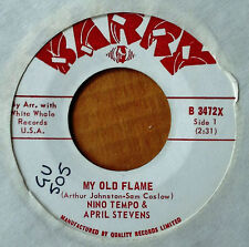 NINO TEMPO & APRIL STEVENS - MY OLD FLAME - BARRY 45 - CANADIAN PRESSING