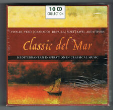 CLASSIC DEL MAR - MEDITERRANEAN INSPIRATION - 10 CD SET - COFFRET NEUF NEW NEU