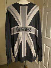 Guinness Union Jack Jumper Rare Men's Large