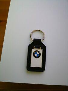 BMW Leather/Metal Keyring Keyfob GENUINE BMW ITEM BRAND NEW