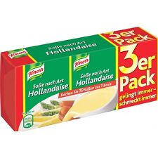 "6 x Single Packs ""KNORR Sauces"" (Sauce Hollandaise / Soße Art Hollandaise)"