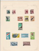 south african 1959/61 stamps page ref 17924