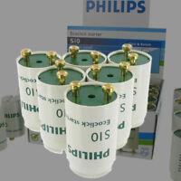 4x Starter Leuchtstofflampe Zünder,BI-Metall-Schalter,Flackerlicht,Röhre RG4