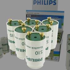 6x Starter Philips ECOCLICK S10 für Leuchtstoffröhren von 4- 65 Watt   NEU
