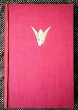 SIGNED by WALTER De la MARE - ON THE EDGE 1930 LTD ED; ELIZABETH RIVERS WOODCUTS