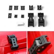 For Jeep Wrangler JK JL Unlimited Parts Black Hood Latch Locking Catch Buckle