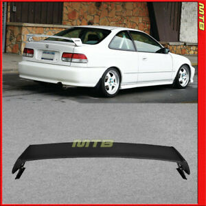 For 96-00 Honda Civic MUG Style Rear Wing trunk Spoiler ABS Plastic 2Dr Coupe 2D