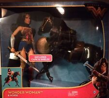 NEW WONDER WOMAN DOLL & HORSE 2017 MOVIE