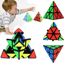Pyramid Triangle Magic Speed Cube Pyraminx Twist Puzzle Magic Intelligence Toy