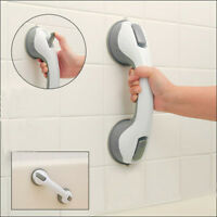 Super Grip Suction Cup Handrail Bath Tub Bathroom Shower Grab Bar Safety