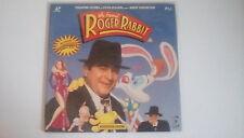 WHO FRAMED ROGER RABBIT LASERDISC BOB HOSKINS CHRISTOPHER LLOYD NTSC