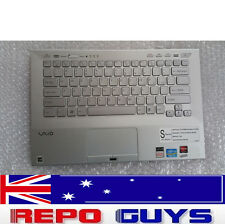 Sony Vaio VPCSC1AFM  SILVER Keyboard 045-0011-129-B USED EXCELLENT CONDITION