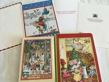 older Mary Engelbreit Christmas paper items & winter cards